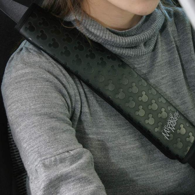 米奇汽车安全带护肩套可爱卡通四季加长保险带夏季车内装饰通用型