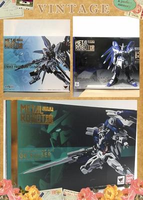 万代METAL ROBOT魂MR 00Raiser OOR/海牛/强袭自由高达配件包现货