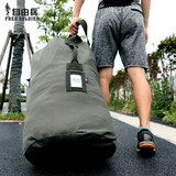 Free outdoor tactical moving bag 100L large-capacity travel bag large barrel bag large folding bag shipping bag