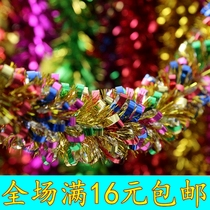 Wedding supplies new years wool pull colorful ribbon color New Years day birthday Christmas pull flower Wedding Room Decoration