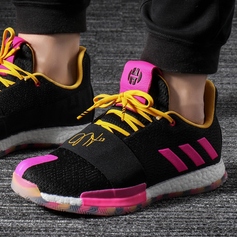 Adidas阿迪达斯男鞋2019夏季新款boost运动鞋子哈登3代实战篮球鞋