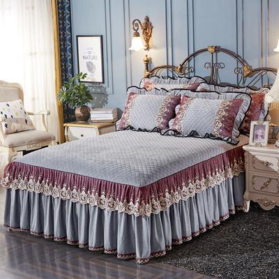 夹棉欧式床罩谁买过的说说