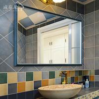 浴室镜子 地中海
