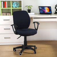 Office swivel chair cover Internet cafe computer chair cover split thick elastic boss lift seat armrest cover universal