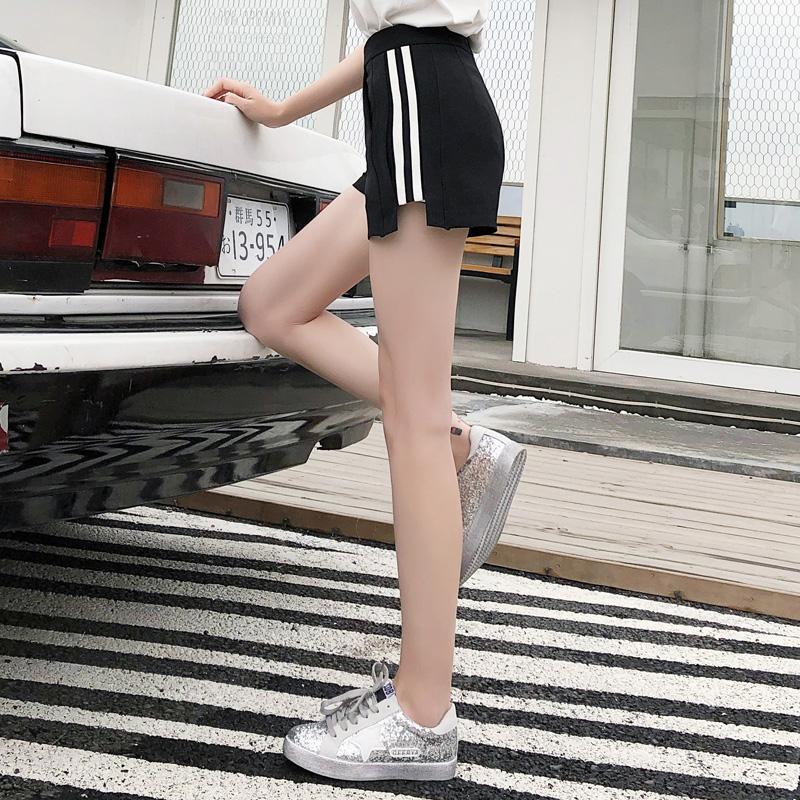 白搭高腰短裤