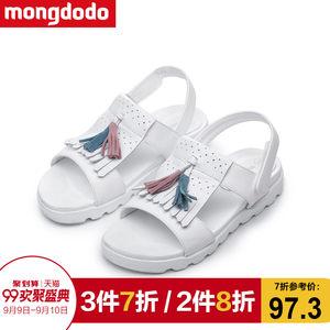 巴拉巴拉旗下梦多多儿童鞋女童凉鞋2017夏季新款中小童沙滩鞋子潮
