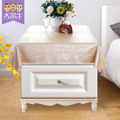 防水桌布 多用盖布床头柜罩电视机盖布冰箱微波炉盖巾洗衣机盖布网店网址