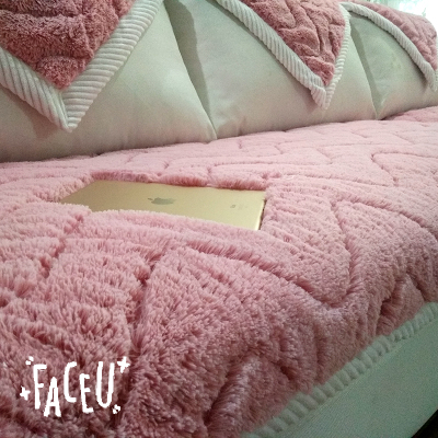 諾依漫冬季沙發墊簡約現代法蘭絨坐墊布藝短毛絨沙發套巾防滑定做怎么樣