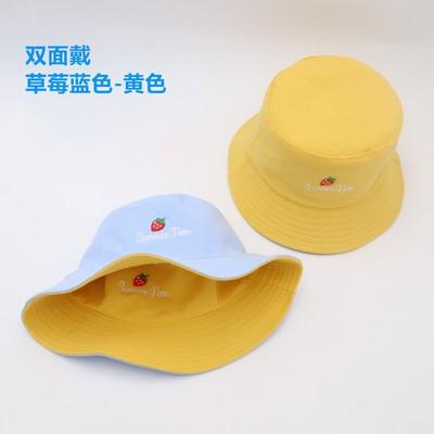 双面刺绣渔夫帽子女士帽百搭盆帽渔夫帽女遮阳帽这么漂亮一箭穿心