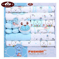 Baby clothes cotton newborn gift set autumn and winter 0-3 months newborn baby full moon baby supplies