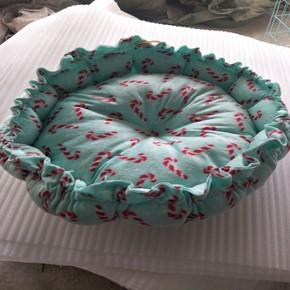 2用 宠物大号狗窝 棉窝 适用于小型犬 中型犬 颜色随机