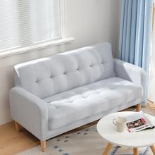 布艺沙发小户型双人卧室小型沙发阳台服装店出租屋简约三人小沙发
