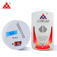 Yongkang carbon monoxide alarm household coal stove indoor soot poisoning flammable gas alarm fire certification