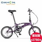Dahon大行16寸8速变速铝合金折叠自行车成人学生男女式小轮单车