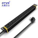 Datang guard PDU cabinet socket 10 bit 10A cabinet PDU power supply multi-function power supply plug DT81104