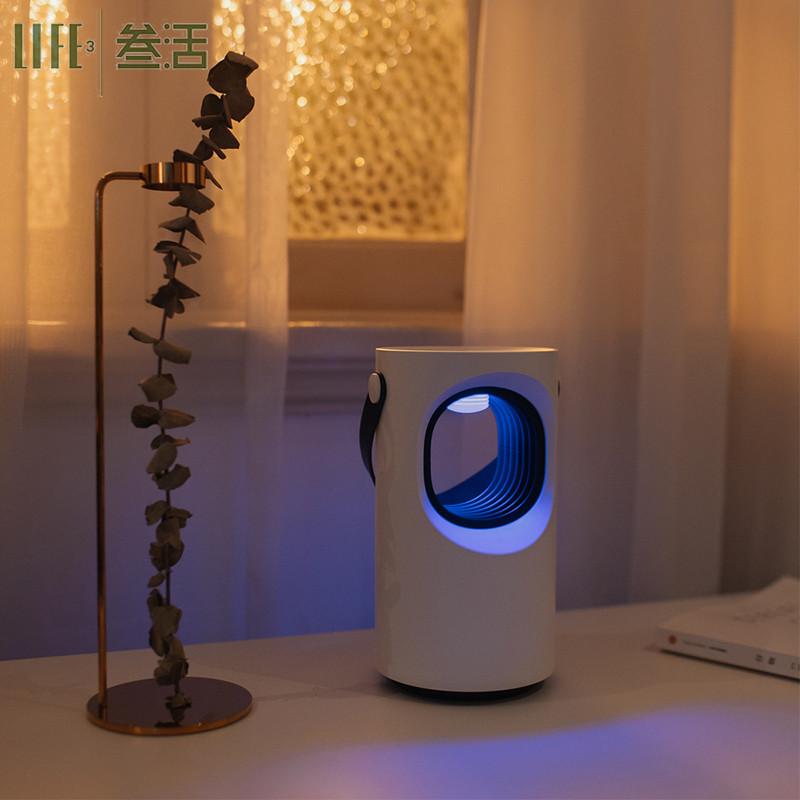 紫漩家用室内灭蚊灯LED光源物理插电式驱防蚊灭蚊灯器