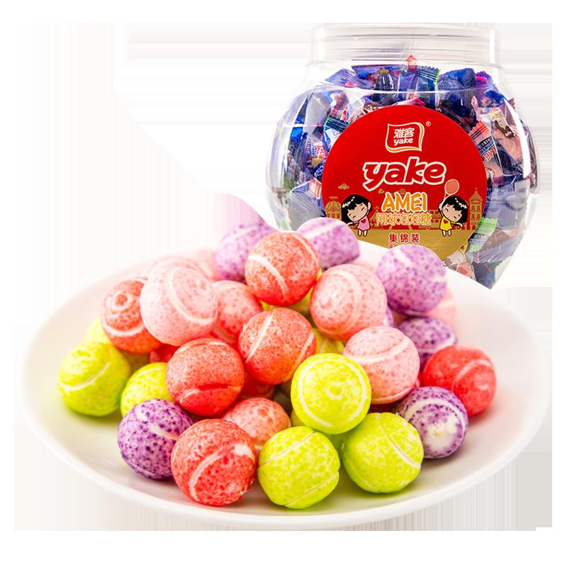 网球泡泡糖