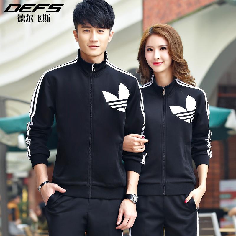韩版卫衣套装情侣