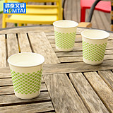 Treatment of PE Waterproof Layer of 250ml*50 Medium Cups/Packaged Business Cups for Hongtai Stationery Disposable Paper Cups