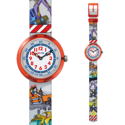 斯沃琪飞菲儿童手表 2013 男孩 小小建筑师 瑞士 新品ZFBNP007领取优惠券