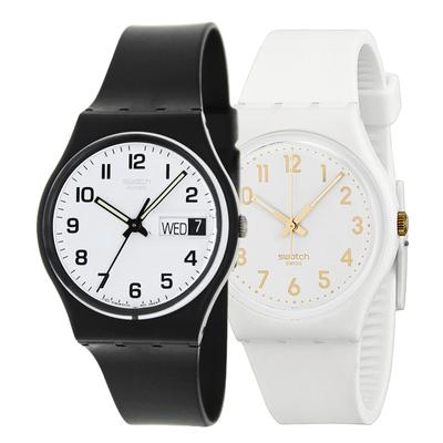 swatch王俊凯同款手表原创系列石英男女学生情侣表GW164使用感受