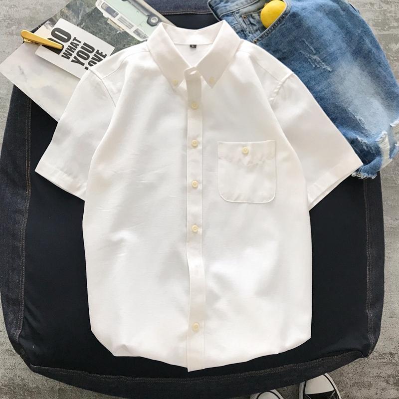 潮男衬衫时尚短袖