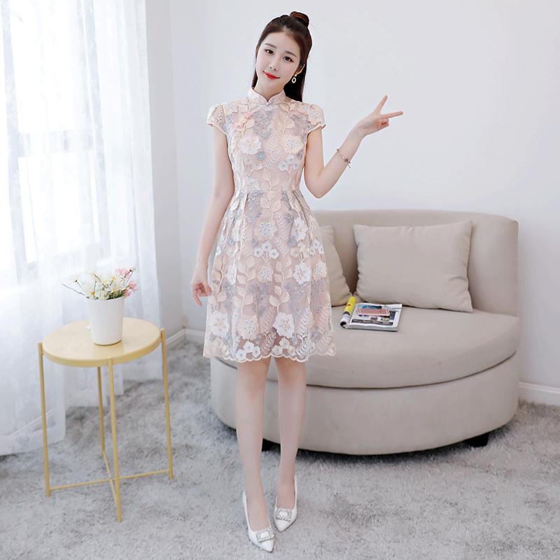 韩版淑女旗袍