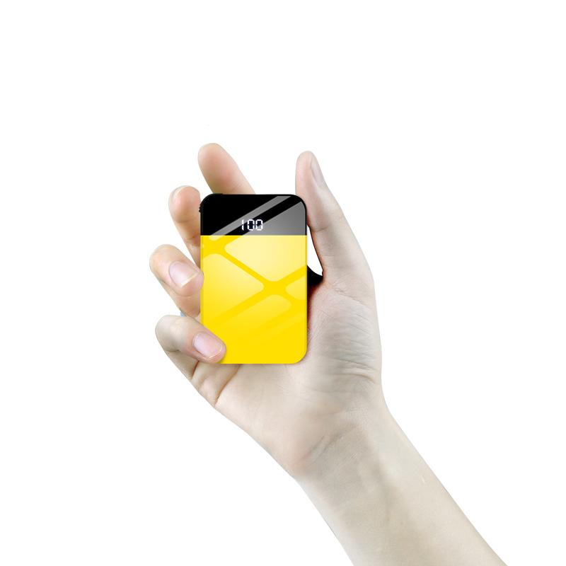 充电宝迷你大容量毫安超薄女便携太阳能6苹果X手机正品7华为通用vivo小巧oppo冲8移动电源小米10000快充闪充