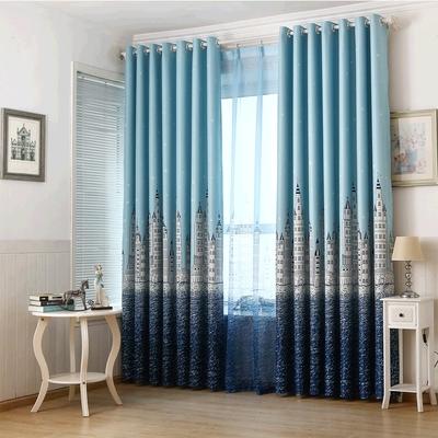 地中海窗帘卧室哪里购买