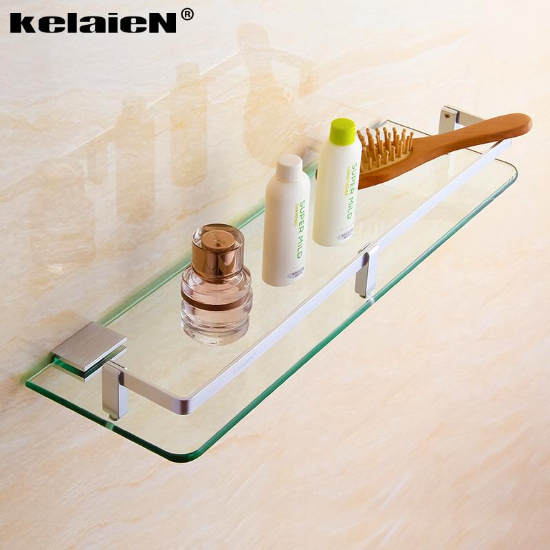 卫浴玻璃置物架