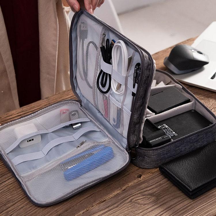 旅行便携数码产品移动硬盘收纳.