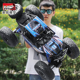 Beautiful large remote control off-road vehicle electric four-wheel drive climbing high speed racing car charging boy toy car