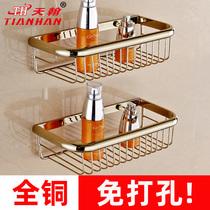 包邮!太空铝浴室置物架卫生间收纳架三角架转角架卫浴用品