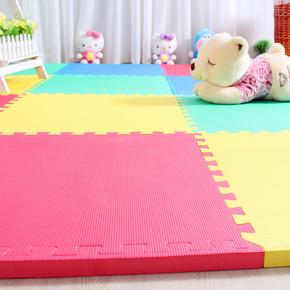 儿童拼接泡沫地垫加厚2.5cm大号防滑婴儿宝宝客厅家用拼图爬行垫