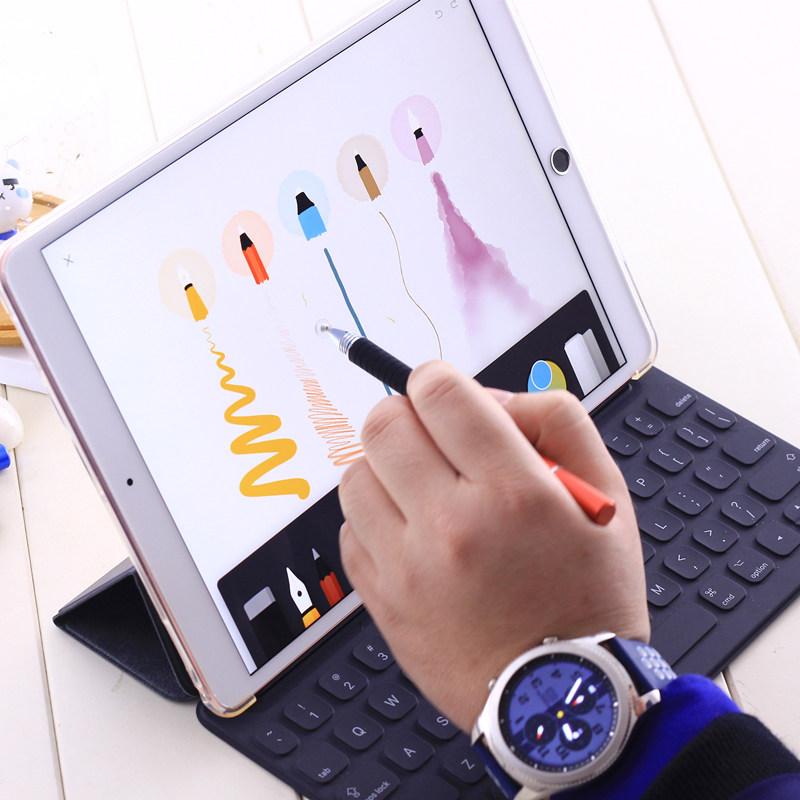 2019 电容笔细头触控触屏手写通用苹果手机平板电脑2018新款IPADAIR3华为M5pro11寸mini4mini5小米4安卓荣耀5