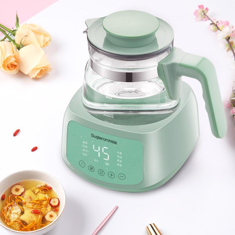 苏格朗调奶器恒温器玻璃热水壶婴儿自动冲泡奶粉温开水壶智能保温
