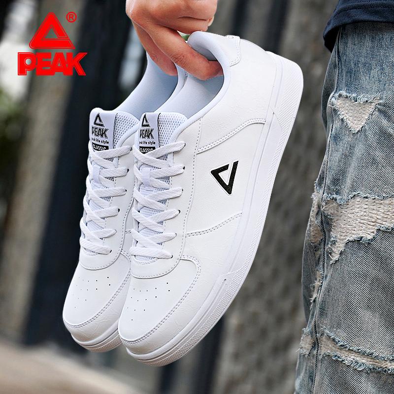 匹克男鞋板鞋2019冬季轻便防滑运动鞋小白鞋韩版学生滑板鞋休闲鞋
