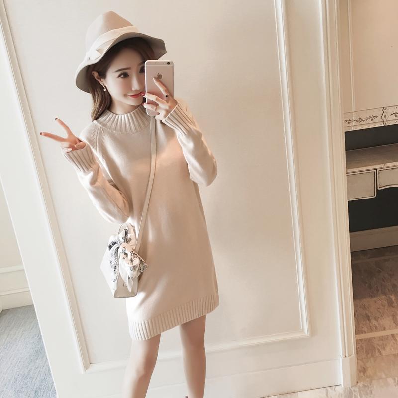 毛线连衣裙