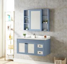 简约现代太空铝卫浴浴室柜组合洗漱台卫生间洗脸盆池洗手盆阳台盆