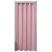 Fabric curtains home decoration air conditioning partition curtain bedroom bathroom kitchen fitting room shading free punch curtain