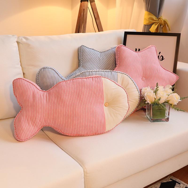 布艺可爱靠垫枕