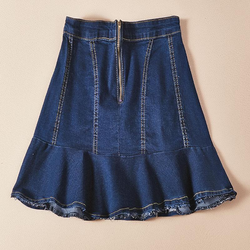 半身裙牛仔短裙女