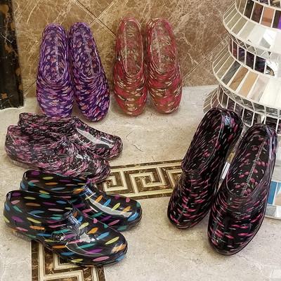低帮浅口雨鞋雨靴防水鞋套鞋胶鞋女短筒成人韩国时尚可爱防滑夏季