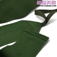 Army Green 5cm wide Vintage Retro Cotton Leggings Blue Grey Grooming Cotton Herringbone Belt