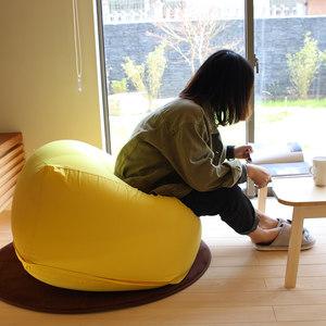 日式榻榻米单人豆袋无印良品创意少女懒人小沙发阳台客厅卧室椅子