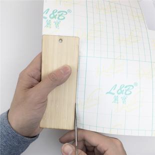 相框书签押花画贺卡专用冷裱膜4 压花贴膜壓花材料 押花覆膜纸