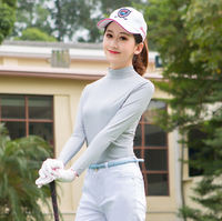 Two pieces of TTYGJ golf clothing spring and summer sun protection clothing women's ice silk bottoming shirt long sleeve ball clothing