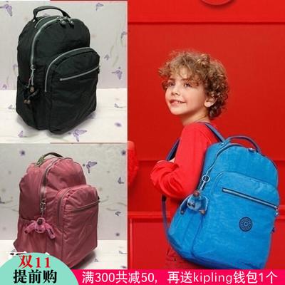 kipling正品凯普林大号双肩包电脑书包旅游休闲男女包k21305背包