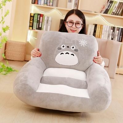 卡通猴子儿童沙发男女孩迷你仓鼠宝宝座椅懒人榻榻米龙猫成人沙发