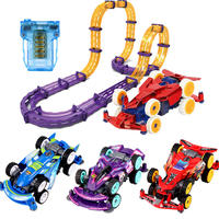 Audi double drill four-wheel drive track zero speed hegemony track track children's toys charging boy electric car suit